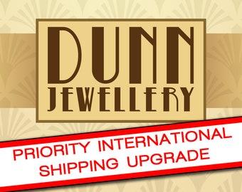 Priority International Shipping Upgrade