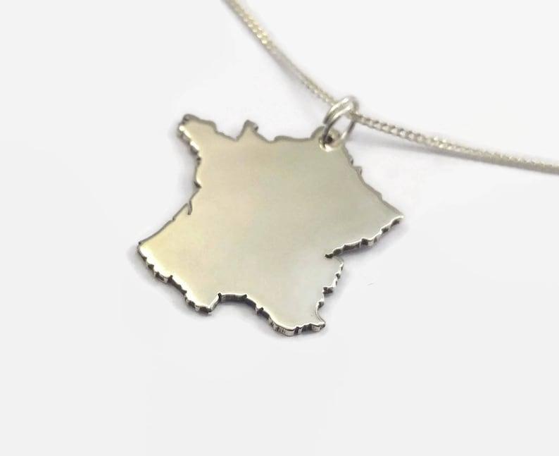 Sterling Silver France Necklace image 0