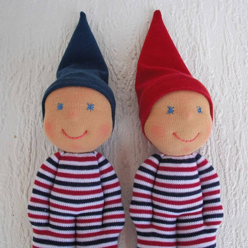 Waldorf Elf Dolls For Twin Babies Toddler Tiny Elves