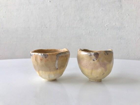 Earthy Sake Cup Set of 2