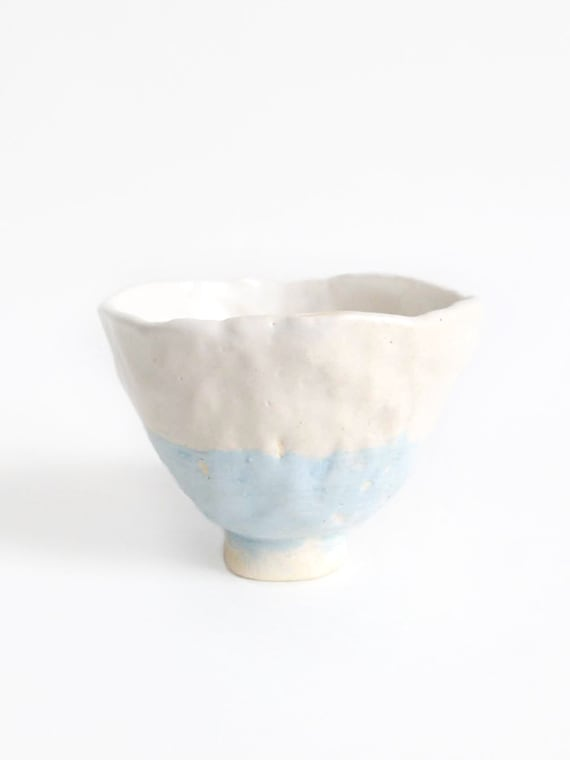 Light Blue and White Tea Cup (Price per cup)