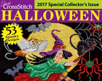 Just cross stitch magazine halloween