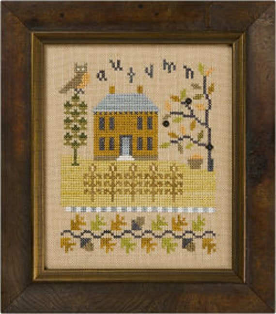 A Basket Full Of Flowers~counted cross stitch pattern #1124~Children Graph Chart