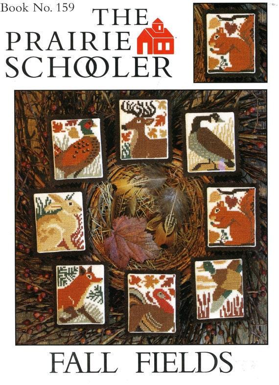 Fall Fields Ornaments Prairie Schooler Cross Stitch Pattern 159 Original
