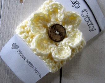 Coffee Cozy / Cup Cozy / Sleeve / Mug Warmer Hand Crocheted