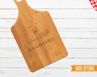 Recipe engraved cutting board, Bamboo recipe board, New home cutting board, Wedding cutting board, Engraved bamboo board