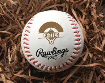 Personalized Baseball, engraved baseball, groomsman announcement baseball, groomsman gift, custom baseball, baseball team gift/Laser Engrave