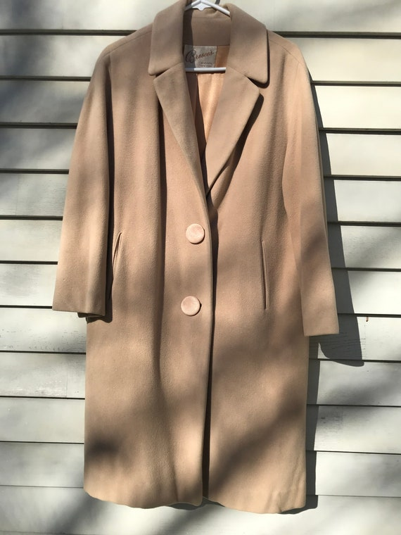1950's Cashmere Coat by Bresee's