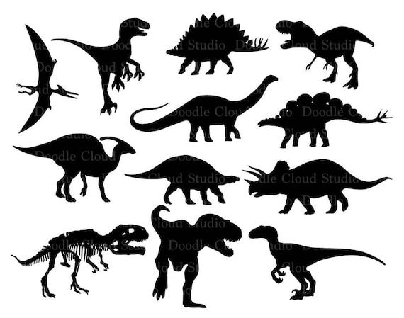 Dinosaur Svg Dinosaur Monogram Prehistoric Dinosaur Svg Files Etsy