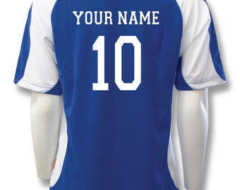 8b920b442f2 Sweeper Soccer Jersey, Personalized with Your Name and Number on Back