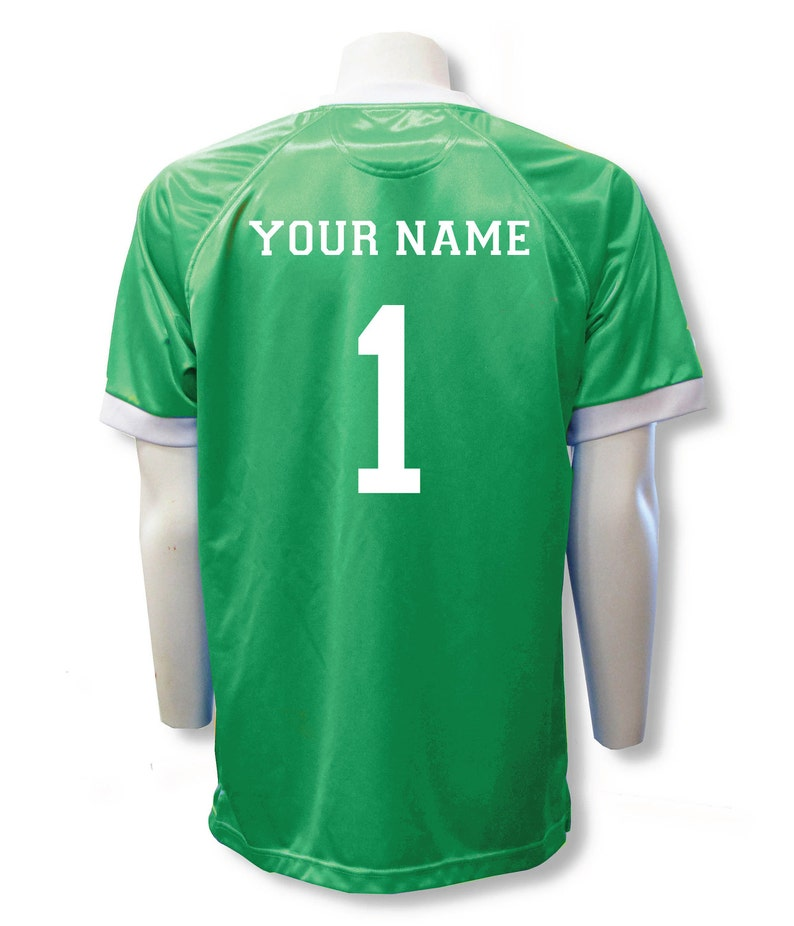 d27b10b9e95 Short Sleeve Soccer Goalie Jersey Personalized with Your Name