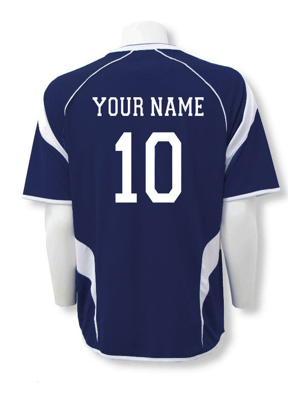 online retailer 3d87d baace Soccer Jersey Personalized with Your Name and Number on Back