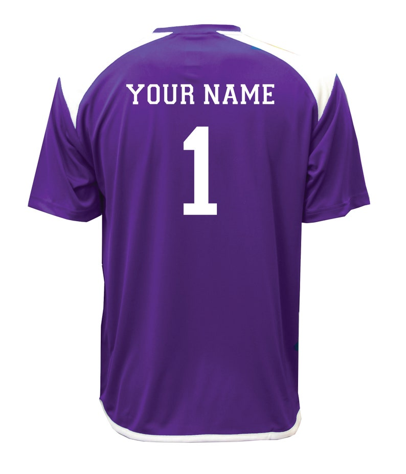 acabb95b Diadora Grinta short-sleeve soccer goalkeeper jersey personalized with your  name and number