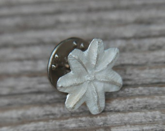 6e26aa39665 Silver handmade poppy flower pin || sterling silver flower pin || nature  jewelry || forest inspired jewellery || real poppy brooch