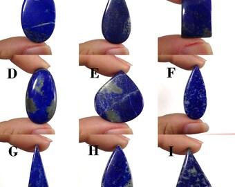 89ac52e9344e Lapis Lazuli Cabochon chilean lapis lazuli gemstone Natural Gemstone Symbol  of royalty and honor Q227