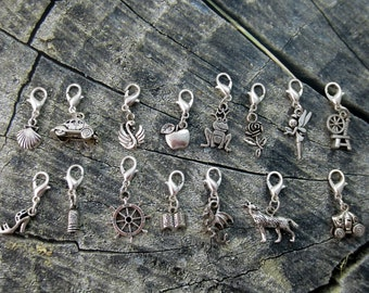 Once Upon a Time inspired charms/ bracelet