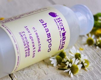 Natural Shampoo, Shinny Hair, Liquid Silk, Herbal Shampoo, Organic Shampoo, SLS free, Natural Liquid soap, Hair Care by Herbana Cosmetics