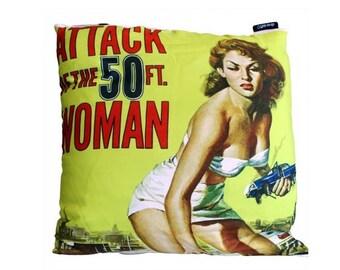 Pillow cover, 50s, 40 x 40 cm, soft pillow, pillow