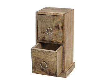 Wooden cabinets, wooden cabinets with 2 drawers, wood cabinet made of mango wood