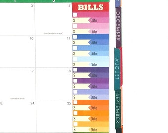 daily spending stickers printable expense log budget plan etsy