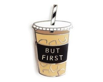 Balanced Co Coffee Enamel Pin