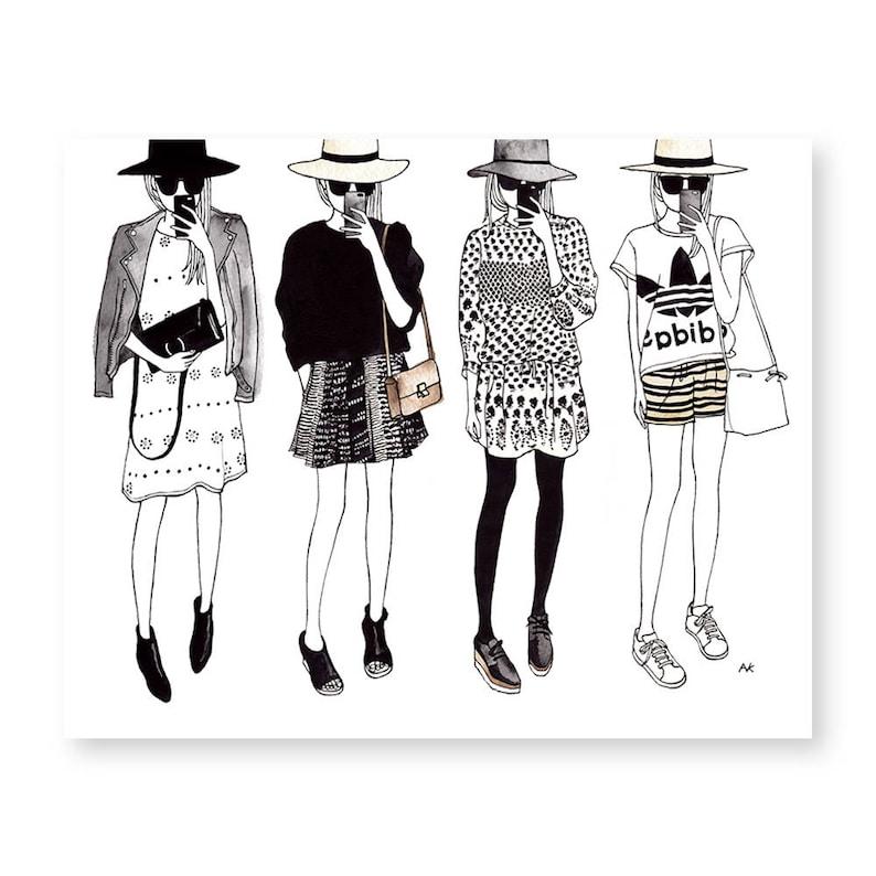 Printable fashion wall art free