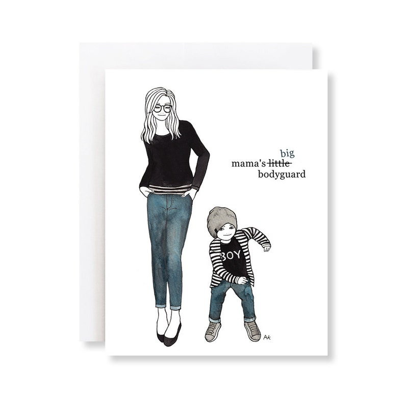 Funny Mothers Day Card For Mom