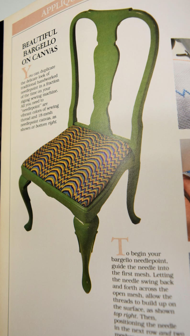 1985 Creative Machine Stitchery by Better Homes and Gardens 95 pages of Sewing PatternsEmbroideryCutworkFanciful TrimsDrawing /& Paint