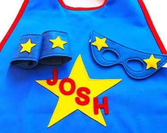 Kids Personalised Superhero Costume