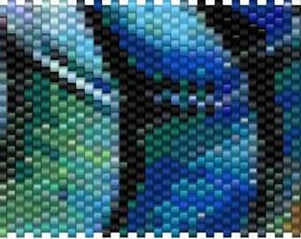 Peyote Stitch Pen Cover Pattern - 02