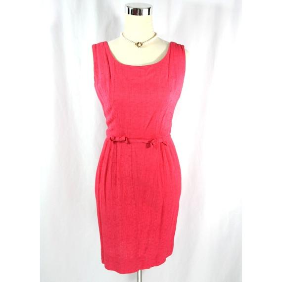 Vintage 1960's Marjorie Montgomery Pink Sleeveless