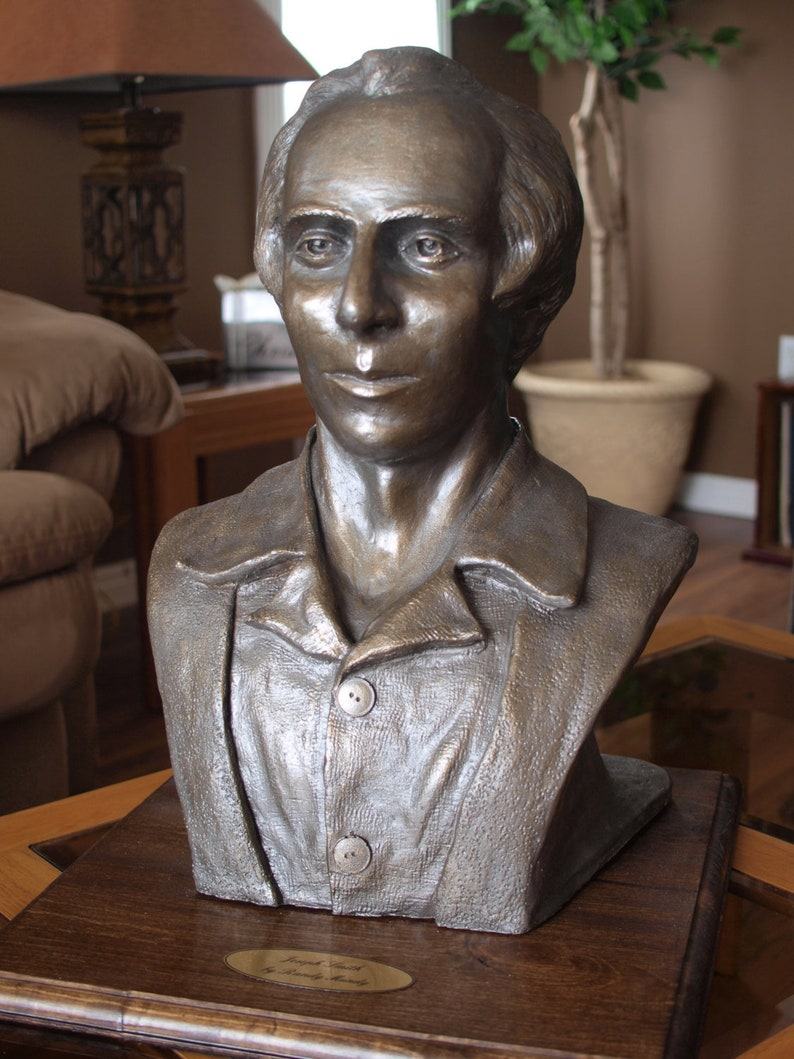 Joseph Smith Bust Sculpture image 0