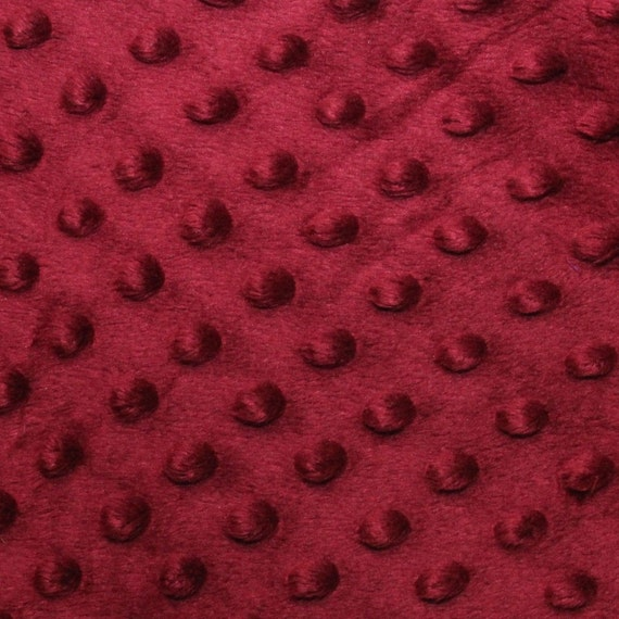 """Cuddle Bumps Minkie Dot 60/"""" wide fabric ~ Priced By The 1//2 yard"""