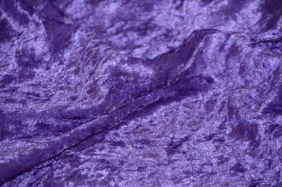 "60/"" BTY Royal Blue Panne Crush Velvet Backdrop Apparel Stretch Fabric"