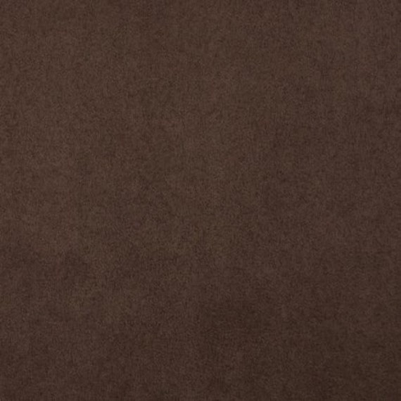 Chocolate Brown Polyester Micro Faux Suede Upholstery Fabric Etsy