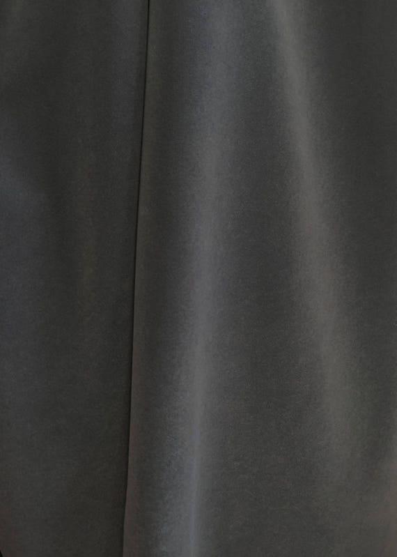 Charcoal Gray Velvet Flocking Solid Upholstery Fabric Etsy