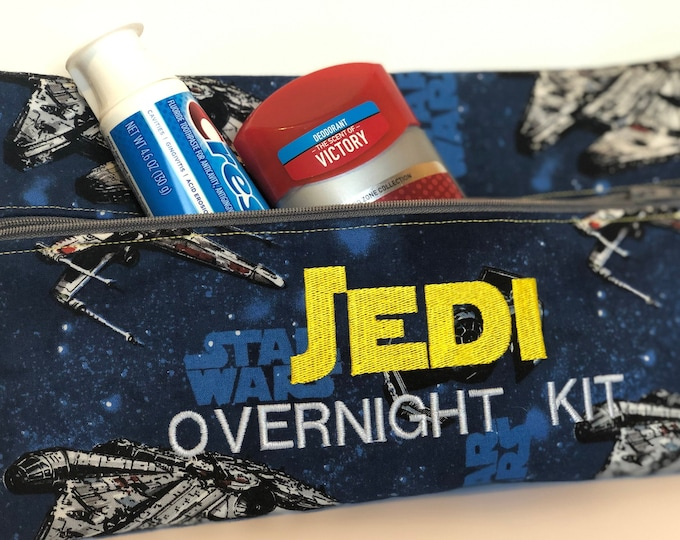 Jedi Overnight Kit Zipper bag pouch