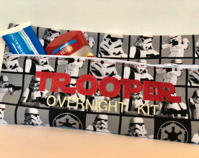 TrooperOvernight Kit Zipper bag pouch