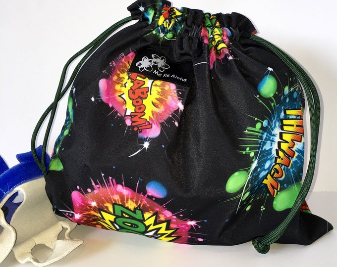 BIg Bang Bag, Gymnastic Grip drawstring bags, drawstring bag, grip bag, gym bag, gymnastic bag, swimsuit bag