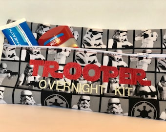 TrooperOvernight Kit Zipper bag pouch