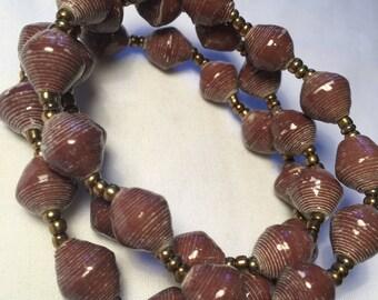 The Phoebe Beige Trio Bracelet Set