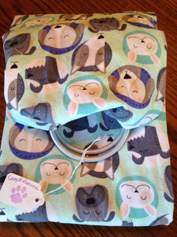 009622c7603 Ring sling for your pet Up to 30 lbs. Pocket included
