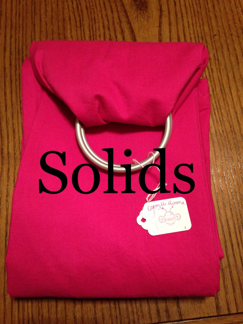 45017f3d679 Solid Color ring sling for carrying your pet. Up to 30 lbs