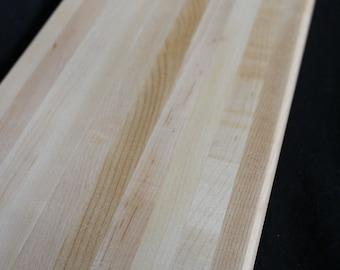 Handmade Maple Cutting Board cheese board serving tray