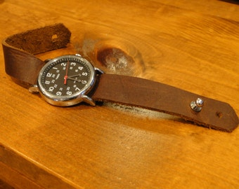 Leather Watch Strap / Leather Watch Band