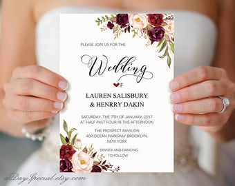 Wedding Invitations Vistaprint.Vistaprint Etsy