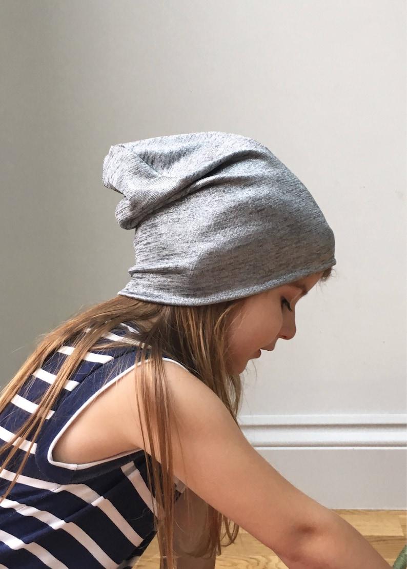 62ba3d7ecc5 Metallic silver Grey beanie hat   baby toddler kids beanie hat