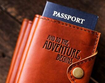 WOW 60% OFF Passport Holder, Passport Cover Personalized Passport Cover Travel Passport Personalized Wallet Cover... Leather Passport...