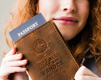 60% OFF Passport Holder Travel Passport Personalized Cover... Custom Full Grain Leather Passport cover... Passport Holder Sale Gift for Men
