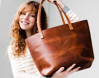 Leather Tote Bag SALE Zipper Tote ca681fae86669